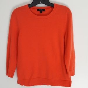 Ann Taylor 100% Cashmere Long Sleeve Sweater